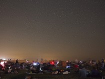 Meteor shower star party