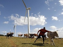 Wind farm Kenya