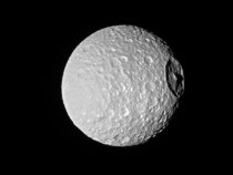 NASA Image Shows Saturn's 'Death Star Moon'