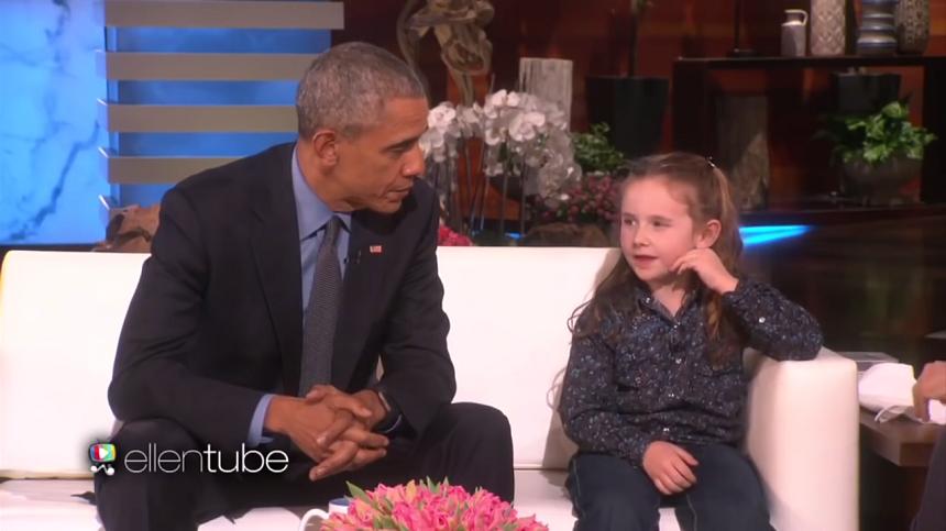 President Obama Asked About Aliens On Ellen Show