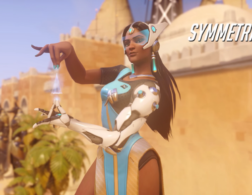 Overwatch Update: Symmetra Plagued With Major Glitch On Her Teleporter