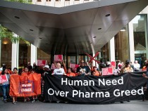 Protestors Rally In New York Against EipPen Price Gouging Scandal