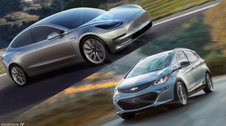 Tesla Model 3 & Chevy Bolt EV: Price vs Availability