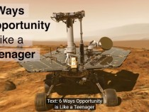 Six Ways Opportunity is like a Teenager
