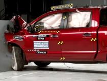 2017 Nissan Titan Gets 'Marginal' Rating In IIHS Crash Test
