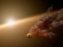 Fallout from an ancient asteroid collision still rains on Earth