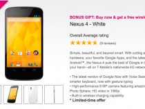 T-Mobile White Nexus 4 Inlcudes Free Wireless Charger