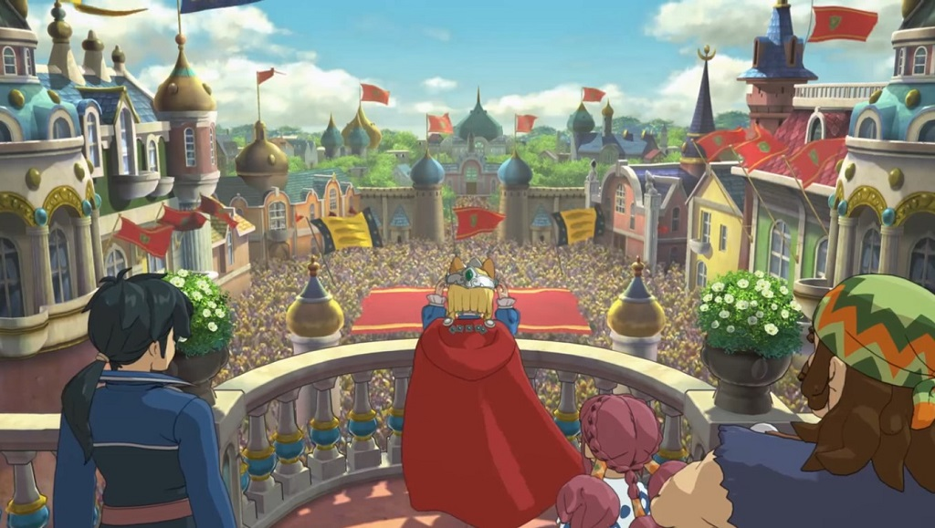 'Ni No Kuni II: Revenant Kingdom' Looks Like Studio Ghibli Made The RPG