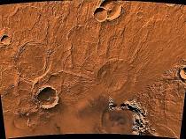 Martian volcano