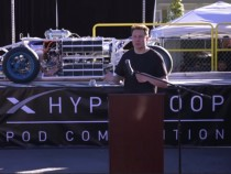 Elon Musk at SpaceX Hyperloop Pod Competition 2017