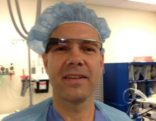Google Glass Surgery