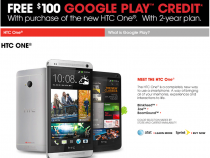 HTC One offer