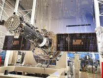 IRIS solar wings deployed