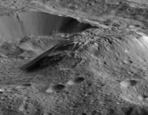 Disappearing Ice Volcanoes Could Be Found On Ceres