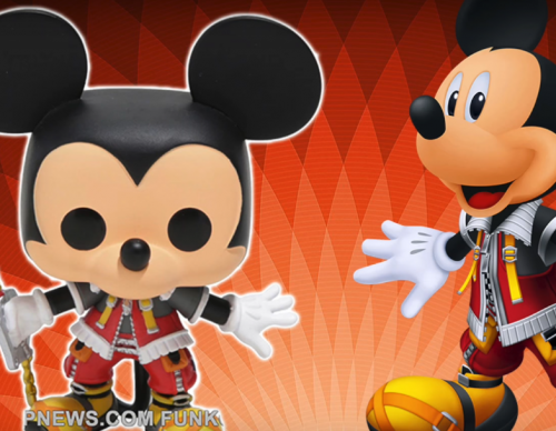 Kingdom Hearts Funko POPs First Look! King Mickey, Goofy, Donald & More.
