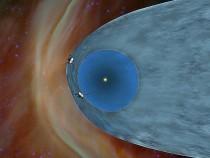 Voyager spacecraft in heliosheath