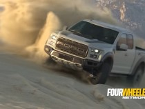 2017 Ford F-150 Raptor Earns 'Four Wheeler Pickup Truck of The Year'