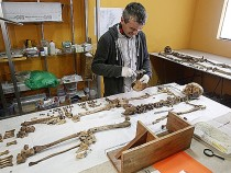 Wari skeleton examined