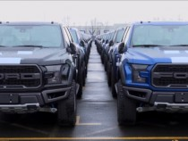 2017 Ford F-150 Raptor Starts Heading To China