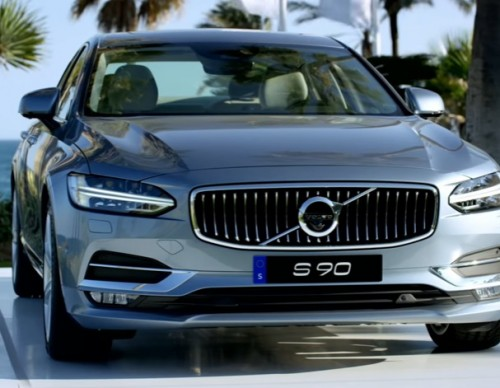 First Look At The 'Volvo S90 T6'; Features Classy And Elegant Futuristic Design