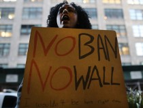 Activists Demonstrate Against Trump's Immigration Travel Ban