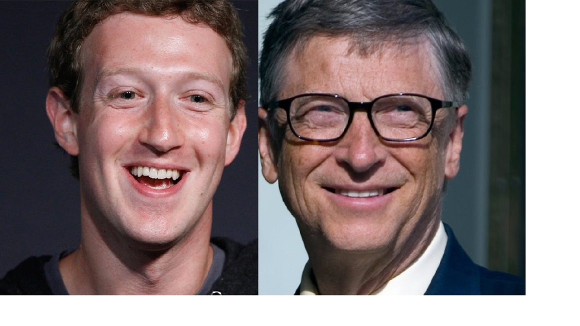 Is Mark Zuckerberg trying to outdo Bill Gates?