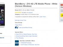 Verizon BlackBerry Z10 on Best Buy