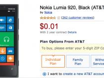 AT&T Nokia Lumia 920 Amazon Deal