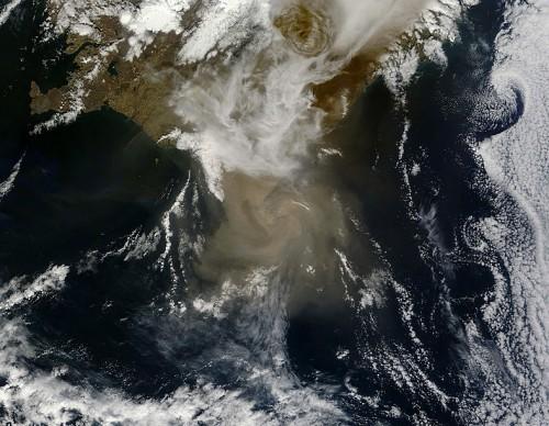Grimsvotn Volcano Produces Huge Ash Clouds