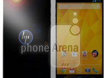 The HP  Brave Android Smartphone Render