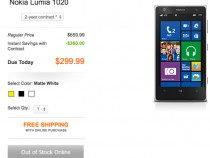 AT&T Nokia Lumia 1020 Pre-Orders Sold Out
