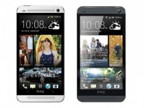 HTC One in Glacial Silver and Stealth Black