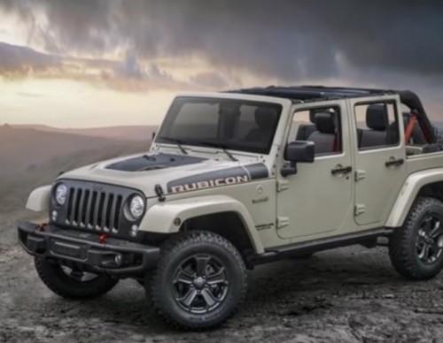 2017 Jeep Wrangler Receives Rubicon Recon Edition