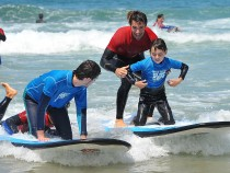 Tommy Hilfiger Brings Celebrity Surfers To Autism Society San Diego