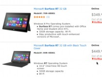 Surface RT Sold-Out At Walmart