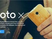 Moto X Website
