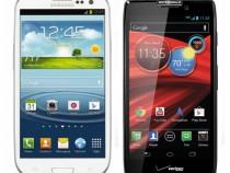 Verizon Samsung Galaxy S3 & Motorola DROID RAZR HD