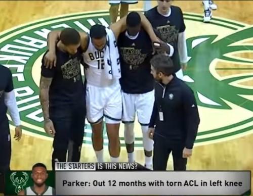 Jabari Parker ACL Injury News February 9, 2017  2016-17 NBA Season