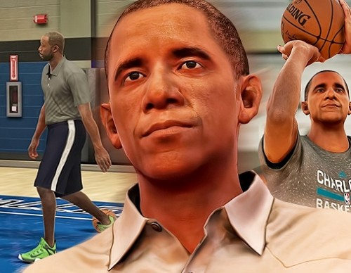 Barrack Obama Is The New Thing In NBA 2K17