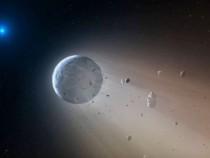 White Dwarf Tears Apart Comet