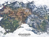 'Horizon: Zero Dawn' World Map Leaks, Previews Three Main Regions