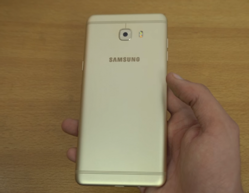 Samsung C9 Pro With 6 GB RAM And 4000 mAh Battery Life