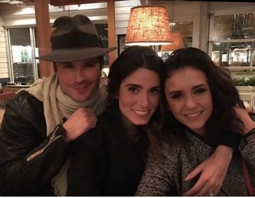 Nikki Reed & Nina Dobrev FINALLY Put Feud Rumors To Rest With Instagram Pic With Ian Somerhalder