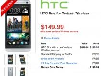 Verizon HTC One Pre-Order Deal