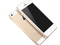 Gold/Champagne iPhone 5S Render