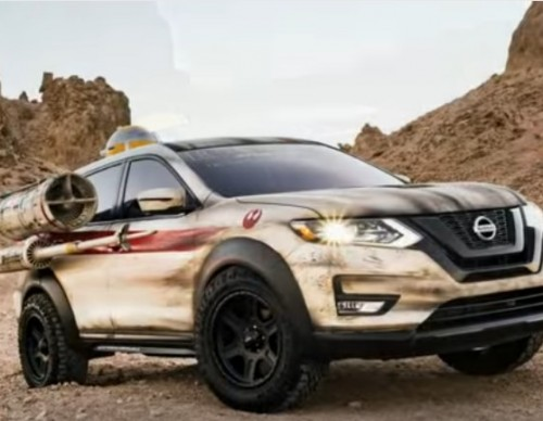 Star Wars Fans Will Love The New Nissan X-Wing Rogue SUV