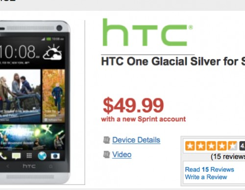 Sprint HTC One WireFly Deal