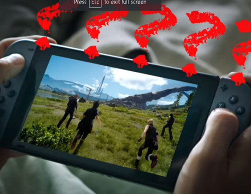 Final Fantasy XV Director Says 'No Plans' for Nintendo Switch Version