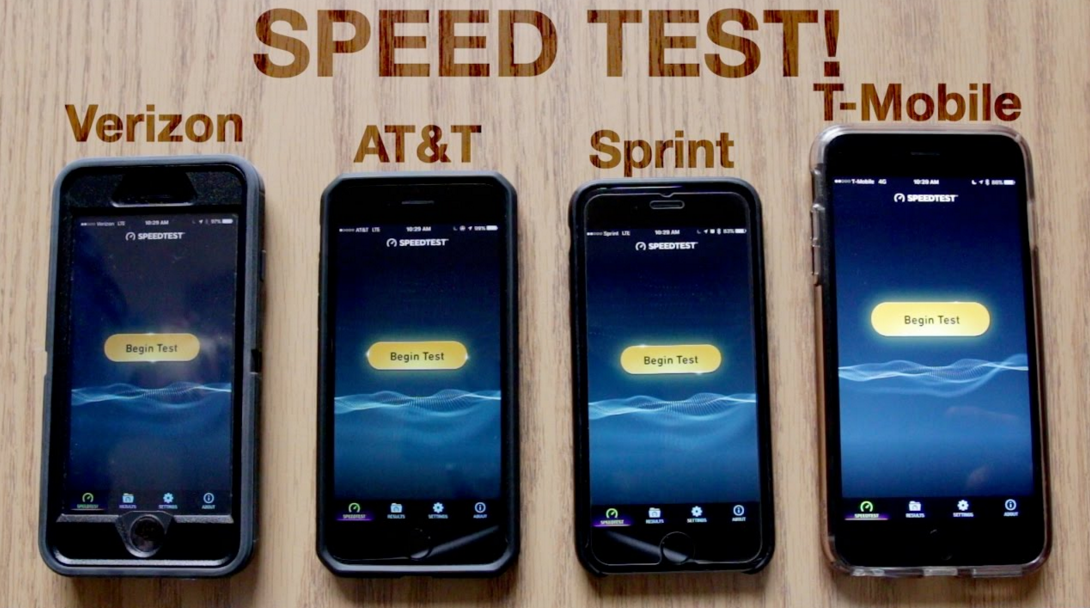 Verizon And T-Mobile Tied For The Best Wireless Networks