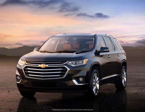 2018 Chevrolet Traverse: New Look And A More Powerful Engine